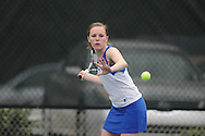 Oxford High's Mary Bryan Barksdale vs. Lafayette High in tennis action in Oxford, Miss. on Tuesday, March 29, 2011.