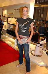 Model JODIE KIDD at the opening of the new Diesel shop at 130 New Bond Street, London W1 on 18th May 2006.<br /><br />NON EXCLUSIVE - WORLD RIGHTS