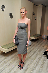 LARA STONE at the second night of the Tomodachi (Friends) Charity Dinners hosted by Chef Nobu Matsuhisa in aid of the Japanese committee for UNICEF held at Nobu Berkeley, Berkeley Street, London on 5th May 2011.