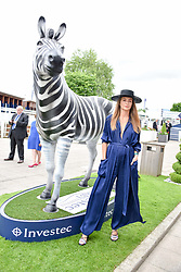 Mille Mackintosh at The Investec Derby, Epsom Racecourse, Epsom, Surrey, England. 02 June 2018.