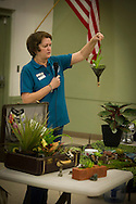 Oklahoma master gardening volunteer conducts a one day bootcamp for Oklahoma County residents who are interested in gardening.