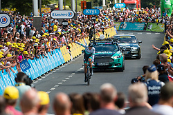 Marcus Burghardt (GER) of BORA - hansgrohe (GER,WT,Specialized) during stage 2 TTT from Bruxelles to Brussel of the 106th Tour de France, 7 July 2019. Photo by Pim Nijland / PelotonPhotos.com   All photos usage must carry mandatory copyright credit (Peloton Photos   Pim Nijland)