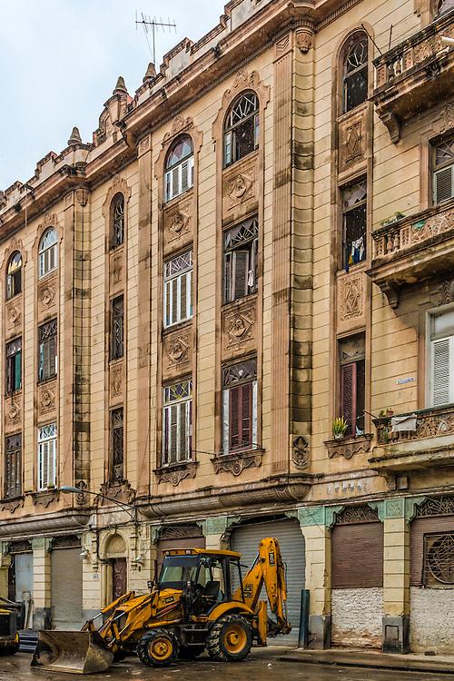 Architecture in Havana Vieja, Cuba.