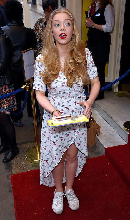 Becky Hill attends Sunny Afternoon Gala Performance at The Harold Pinter Theatre, Panton Street, London on Monday 18 May 2015