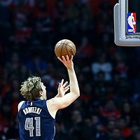 23 December 2016: Dallas Mavericks forward Dirk Nowitzki (41) takes a jump shot during the Dallas Mavericks 90-88 victory over the LA Clippers, at the Staples Center, Los Angeles, California, USA.