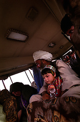 Passengers on the way to Kabul.