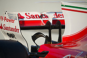 March 7-10, 2017: Circuit de Catalunya. Scuderia Ferrari, SF70H  monkey seat detail
