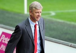 Arsenal Manager, Arsene Wenger  - Photo mandatory by-line: Joe Meredith/JMP - Mobile: 07966 386802 - 09/11/2014 - SPORT - Football - Swanswa - Liberty Stadium - Swansea City v Arsenal - Barclays Premier League