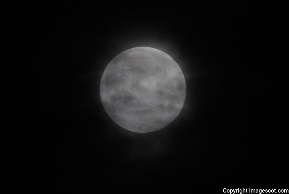 Full Moon, cloud