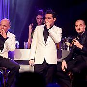 NLD/Hilversum/20120205 - Concert tbv Stichting DON, Sonny's Inc. Jeroen van der Boom en Lange Frans Frederiks