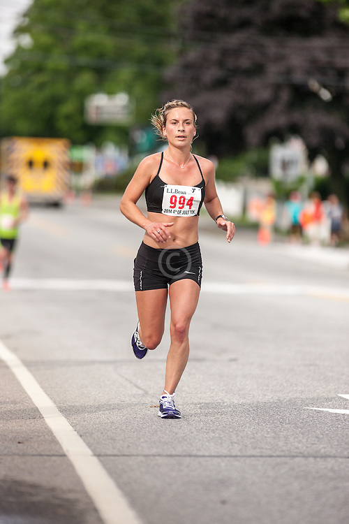LL Bean Fourth of July 10K road race: Alyson Millett