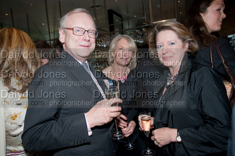JOHN GUMMER; SANDRA HOWARD; PENNY GUMMER, Literary charity First Story fundraising dinner. Cafe Anglais. London. 10 May 2010. *** Local Caption *** -DO NOT ARCHIVE-© Copyright Photograph by Dafydd Jones. 248 Clapham Rd. London SW9 0PZ. Tel 0207 820 0771. www.dafjones.com.<br /> JOHN GUMMER; SANDRA HOWARD; PENNY GUMMER, Literary charity First Story fundraising dinner. Cafe Anglais. London. 10 May 2010.