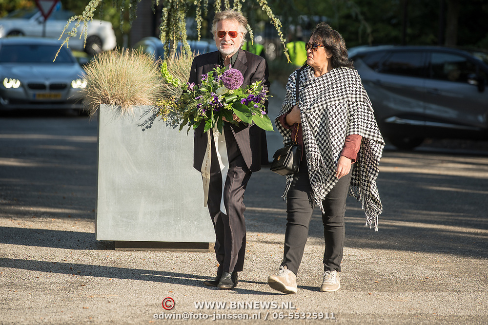 NLD/Leusden/20181005 - Bn-ers nemen afscheid van Koos Alberts, George Baker en partner Blanche