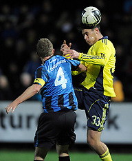 20111204 HB Køge - Brøndby IF Superliga fodbold