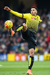 Etienne Capoue of Watford in action - Mandatory byline: Jason Brown/JMP - 27/02//2016 - FOOTBALL - Vicarage Road - Watford, England - Watford v Bournemouth - Barclays Premier League