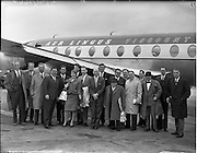 03-06/04/1959<br /> 03-04/06/1959<br /> 03-06 April 1959<br /> Inaugural Dublin - Paris - Zurich - Rome flight from Dublin Airport. Special For Aer Lingus.