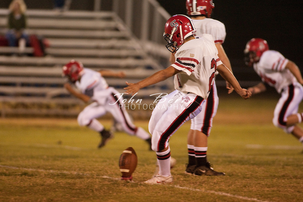 MCHS Varsity Football .vs Stonewall Jackson .Madison 48, Stonewall 7  .10/9/09