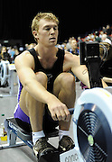 Birmingham, Great Britain,   Men's open weight  Alex GREGORY, competes at the British Indoor Rowing Championships, National Indoor Arena, NIA, Sun, 22.11.2009  [Mandatory Credit. Peter Spurrier/Intersport Images]
