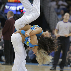 17 December 2008:  New Orleans Hornets Honeybees dancers perform during a 90-83 victory by the New Orleans Hornets over the San Antonio Spurs at the New Orleans Arena in New Orleans, LA..