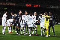 Samuel UMTITI / Clement TURPIN - 08.02.2015 - Lyon / Paris Saint Germain - 24eme journee de Ligue 1<br /> Photo : Jean Paul Thomas / Icon Sport