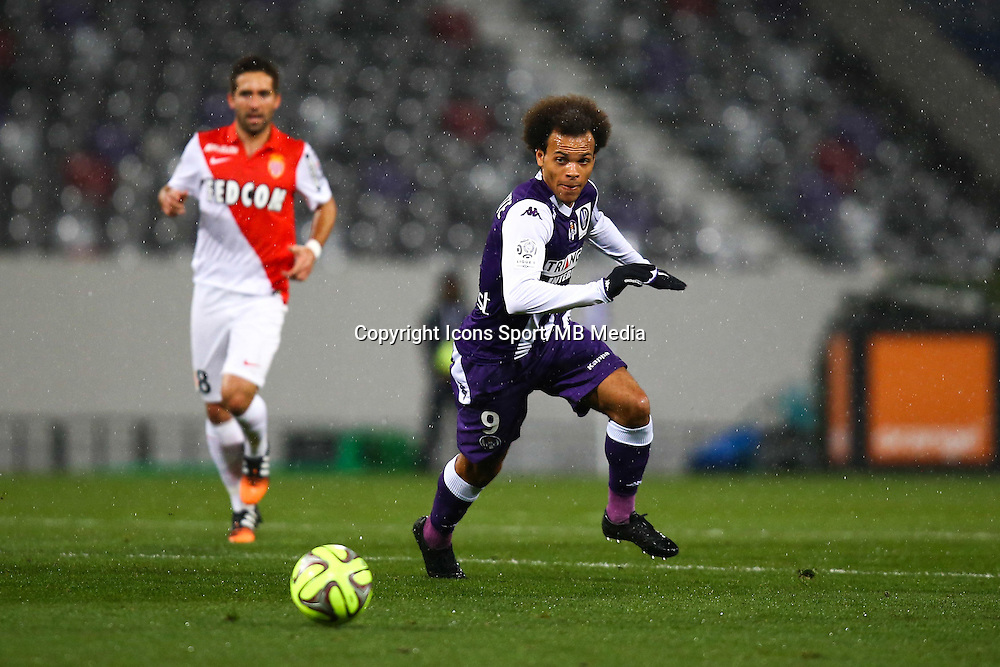 Martin Braithwaite - 05.12.2014 - Toulouse / Monaco - 17eme journee de Ligue 1 -<br />