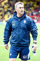 Rob Kelly( Preston Asst Manager ). Watford v Preston North End at Vicarage Road Watford <br /> Coca Cola Championship.  04/10/2008<br /> Credit Colorsport / Kieran Galvin