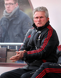 15.01.12, Erfurt, Steigerwaldstadion, GER, 3.Liga, Freundschaftsspiel, FC Rot Weiss Erfurt vs FC Bayern München im Bild Trainer Jupp Heynckes (Bayern) // during the friendly match between FC Rot Weiss Erfurt and FC Bayern Munich, Erfurt Germany on 12/01/15EXPA Pictures © 2012, PhotoCredit: EXPA/ nph/ Hessland..***** ATTENTION - OUT OF GER, CRO *****