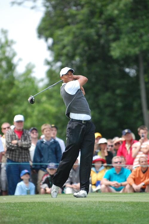 Tiger Woods at the 2009 Memorial Tournament in Dublin, Ohio.