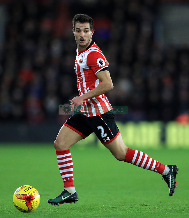 Southampton's Cedric Soares during the EFL Cup Semi Final, First Leg match at St Mary's Stadium, Southampton.