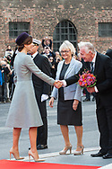 03.10.2017. Copenhagen, Denmark. <br /> Crown Princess Mary's arrival to Christiansborg Palace for attended the opening session of the Danish Parliament (Folketinget).<br /> Photo: © Ricardo Ramirez
