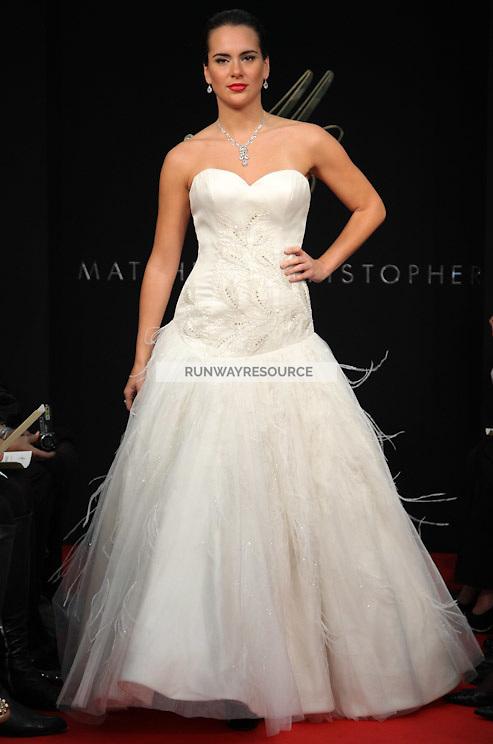 Matthew Christopher New York Bridal Spring 2012