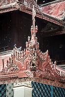 Beautiful Zayat n Mingun which houses the Mingun Bell.