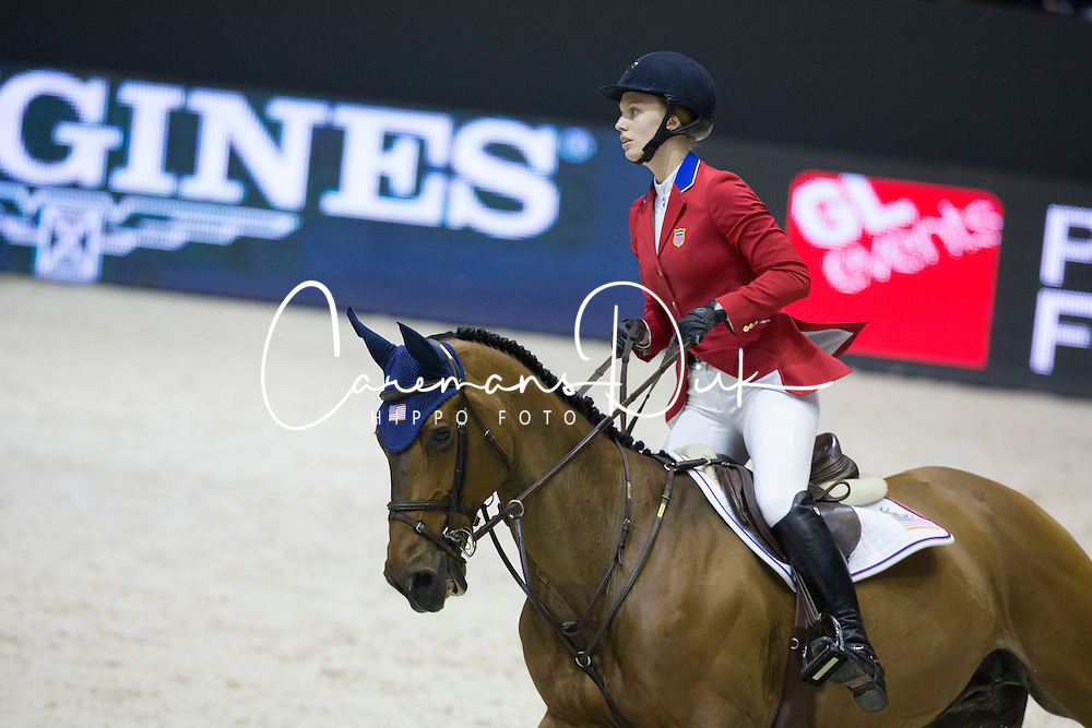 Coulter Saer (USA) - Springtime <br /> Longines FEI World Cup&trade; Jumping Final 2013/2014<br /> Lyon 2014<br /> &copy; Dirk Caremans