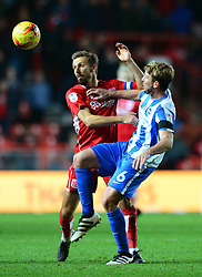 Gary O'Neil of Bristol City is challenged by Dale Stephens of Brighton & Hove Albion - Mandatory by-line: Dougie Allward/JMP - 05/11/2016 - FOOTBALL - Ashton Gate - Bristol, England - Bristol City v Brighton and Hove Albion - Sky Bet Championship