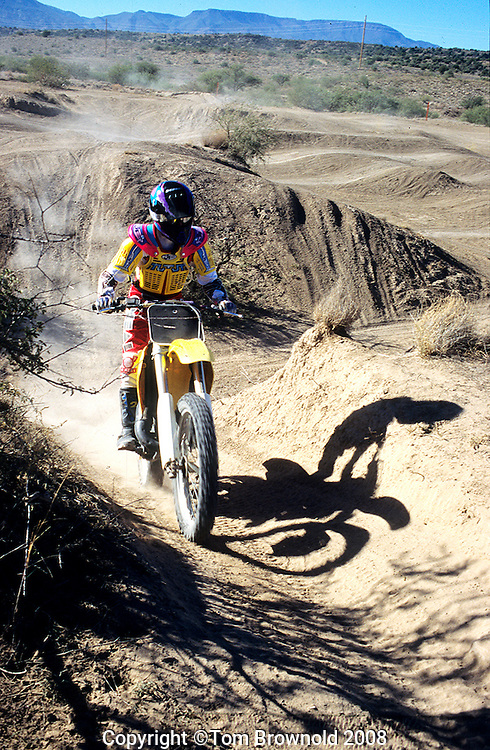 MX cycling on National Forest Service land designated for the activity