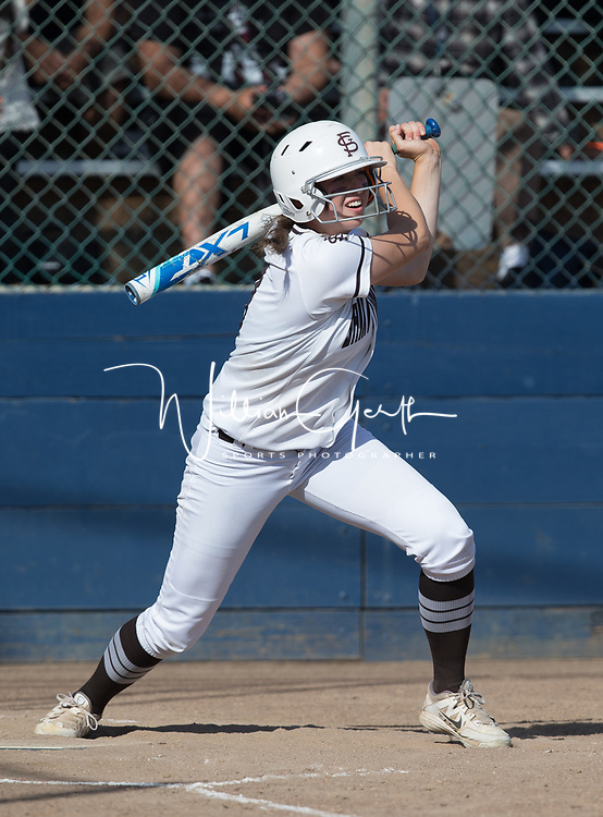 (Photograph by Bill Gerth/ for Max Preps5/24/17) Santa Teresa vs St Francis in the CCS semi finals softball game at PAL Stadium, San Jose CA on 5/24/17.