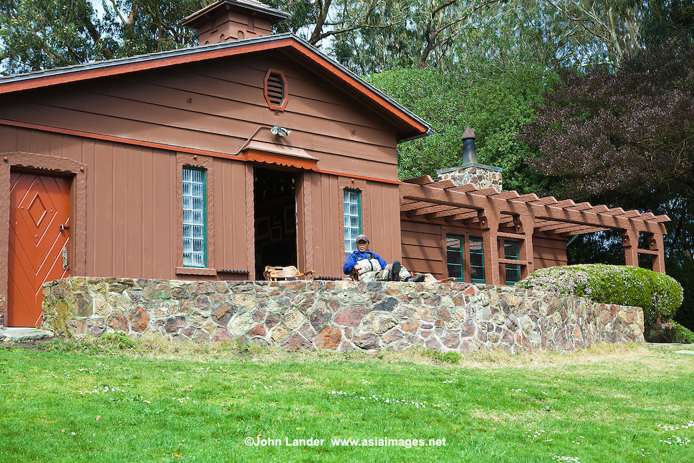 Anglers Lodge, Golden Gate Park - The Golden Gate Angling and Casting Club (GGACC) located in Golden Gate Park - San Francisco has a worldwide membership of more than 500 members. GGACC members enjoy fishing the globe for all species of fish.  Many members are renowned for their casting, rod design and fly tying expertise.  The club's facilities include the Angler's Lodge and Casting Pools built in 1938 by the Work Project Administration (WPA) and considered one of the finest in the world. The casting pools are open to the public and are utilized for national and international casting tournaments.