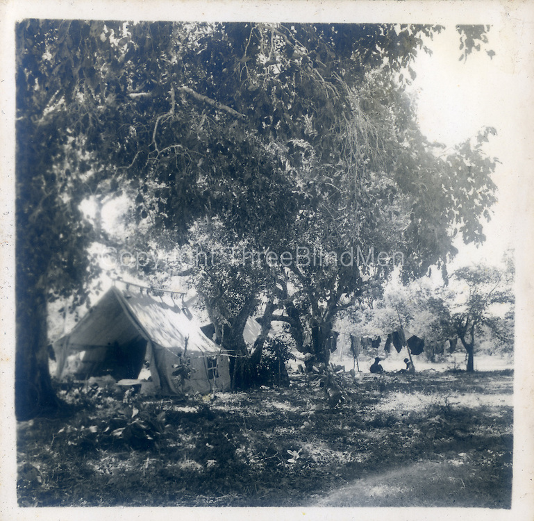 The &ldquo;within tent &ldquo;pic is also Bagura nov 53 &amp; the seated guy is Lance Fernando,<br /> I told you Lyn Andrado who was our &ldquo;director&rdquo; was a surveyor so he brought the Survey Dept &iuml;ssue &ldquo;tent&mdash;very high quality as surveyors lived under canvas on occasion for months at a time. The tents comprised an inner &amp; outer fly &amp; Lance is sitting in the outer &ndash;we took two inners for sleeping &amp; one outer for eating etc. Usually the outer fly goes over the inner for added insulation &amp; weatherproofing.