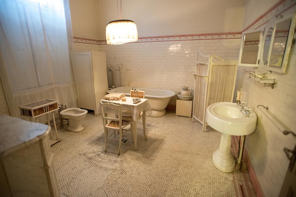 Braun Menendez Historical Museum Bathroom Punta Arenas, Chile