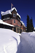 Deer Lodge, Lake Louise, Banff National park, B.C., Canada<br />
