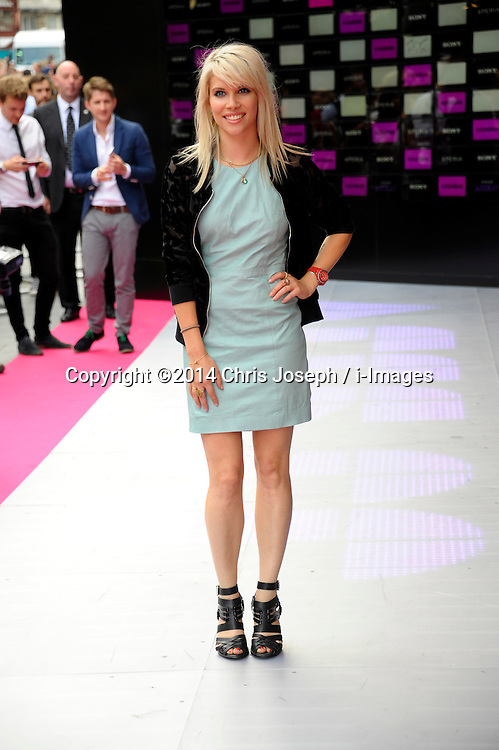 Image ©Licensed to i-Images Picture Agency. 16/07/2014. London, United Kingdom. Pips Taylor attends the VIP screening of Kasabian, Vue Leicester square. Picture by Chris Joseph / i-Images