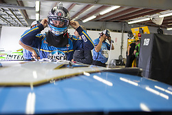 July 21, 2018 - Loudon, New Hampshire, United States of America - Kevin Harvick (4) gets ready to practice for the Foxwoods Resort Casino 301 at New Hampshire Motor Speedway in Loudon, New Hampshire. (Credit Image: © Stephen A. Arce/ASP via ZUMA Wire)