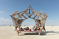 Just loved the design of this camp. If you know the name of the camp and designer(s) please comment below or email me. My Burning Man 2018 Photos:<br />