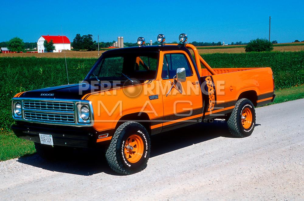 1979 Dodge Macho Power Pickup Truck