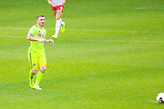 Sheffield United John Fleck (4) passes the ball during the Pre-Season Friendly match between Barnsley and Sheffield United at Oakwell, Barnsley, England on 27 July 2019.