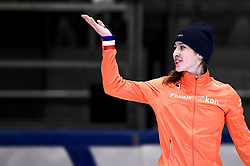 February 9, 2019 - Torino, Italia - Foto LaPresse/Nicolò Campo .9/02/2019 Torino (Italia) .Sport.ISU World Cup Short Track Torino - Ladies 1500 meters Final A .Nella foto: Suzanne Schulting esulta..Photo LaPresse/Nicolò Campo .February 9, 2019 Turin (Italy) .Sport.ISU World Cup Short Track Turin - Ladies 1500 meters Final A.In the picture: Suzanne Schulting celebrates (Credit Image: © Nicolò Campo/Lapresse via ZUMA Press)