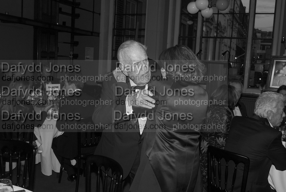 SIR JOHN RICHARDSON; MICA ERTEGUN, The London Library Annual  Life in Literature Award 2013 sponsored by Heywood Hill. The London Library Annual Literary dinner. London Library. St. james's Sq. London. 16 May 2013.
