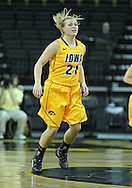 December 30, 2011: Iowa Hawkeyes guard Melissa Dixon (21) during the NCAA women's basketball game between the Northwestern Wildcats and the Iowa Hawkeyes at Carver-Hawkeye Arena in Iowa City, Iowa on Wednesday, December 30, 2011.