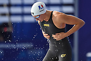 Charlotte Bonnet (FRA) competes on Women's 100 m Freestyle semifinal during the Swimming European Championships Glasgow 2018, at Tollcross International Swimming Centre, in Glasgow, Great Britain, Day 6, on August 7, 2018 - Photo Stephane Kempinaire / KMSP / ProSportsImages / DPPI