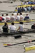 Chiswick, LONDON, ENGLAND, 25.03.2006, Crews await, in the marshalling area, before the 2006 Head of the River Race. Mortlake to Putney. © Peter Spurrier/Intersport-images.com. 2006 Men's Head of the River Race, Rowing Course: River Thames, Championship course, Putney to Mortlake 4.25 Miles 2006 Men's Head of the River Race, Rowing Course: River Thames, Championship course, Putney to Mortlake 4.25 Miles